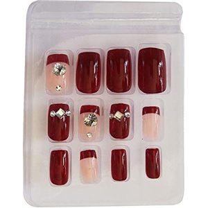 Preglued Artificial Nails 1pcs