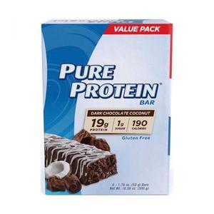 Pure Protein Dark Choco Coconut Bar 50g