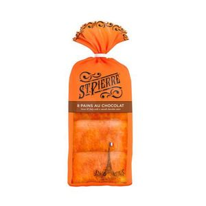 St Pierre Wrapped Pain Au Chocolate 8pack