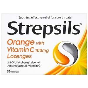 Strepsils Vitamin-C 36S 36pcs