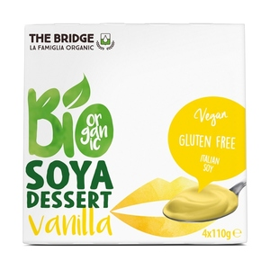 The Bridge Dessert Soya Vanilla 4x110g