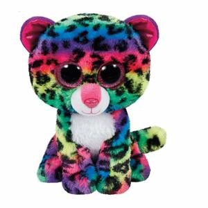 "Ty Beanie Boos Leopard Dotty Color Regular 6""-3"""