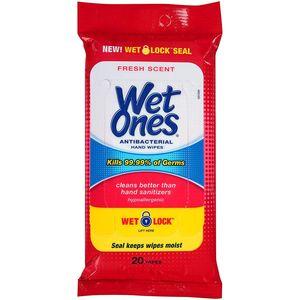 Wet Ones Wipes Original Anti-Bacterial 15pcs