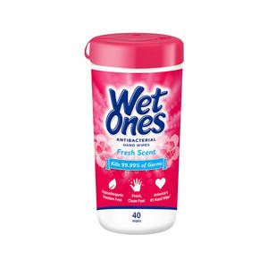 Wet Ones Wipes Original Anti-Bacterial 40pcs