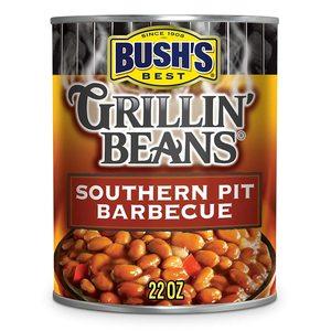 Bushs Best Grilling Beans Pit Barbeque Pork 22oz