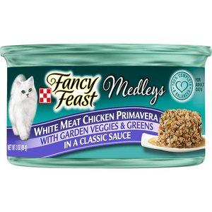 Purina Fancy Feast Medley White Chicken Primaveram 3oz