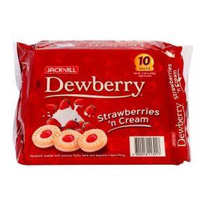 Jack & Jill Dewberry Strawberry 10x33g