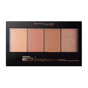 Maybelline New York Master Bronze Color And Highlighting Kit Palette 1pc