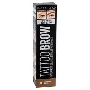 Maybelline Tatto Brow Gel Waterproof 03 Warm Brown 1pc