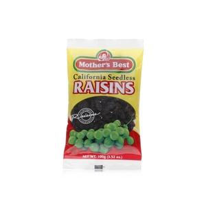Mothers Best California Seedless Raisins 100g