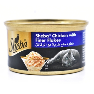 Sheba Chicken With Finer Flakes 85g