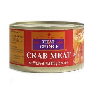 Thai Choice Crab Meat 170g