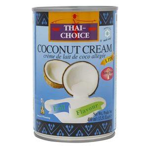 Thai Choice Coconut Cream Lite 400g