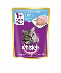 Whiskas In Jelly Ocean Fish 85g
