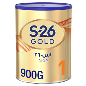 Wyeth Nutrition S26 Pro Gold Stage 1 Premium Starter Infant Formula For 0-6 Months 900g