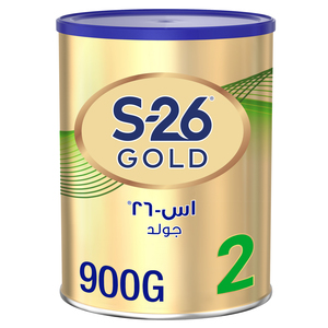 Wyeth Nutrition S26 Promil Gold Stage 2 Premium Follow On Formula Babies Tin For 6-12 Months 900g
