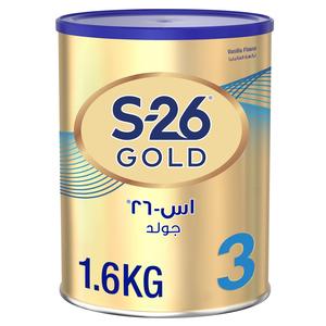 Wyeth S26 Progress Gold Stage 3 Premium Milk Powder Tin For 1-3 Years 1600g