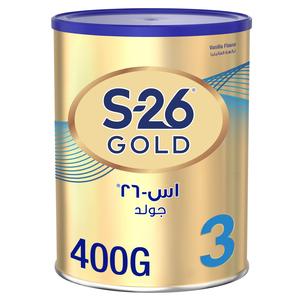 Wyeth Nutrition S26 Progress Gold Stage 3 Premium Milk Powder Tin For 1-3 Years 400g