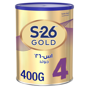 Wyeth S26 Prokids Stage 4 Gold Premium Milk Powder Tin For 3-6 Years 400g