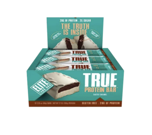 Elite True Protein Bar Salted Caramel 64g