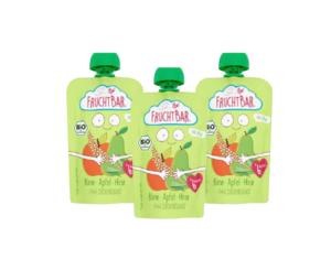 Fruchtbar Bio Fruit Puree 3x100g