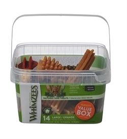 Whimzees Variety Value Box Large 14pcs