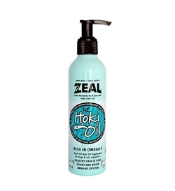 Zeal Natural Hoki Fish Oil Supplement For Cats & Dogs 225ml