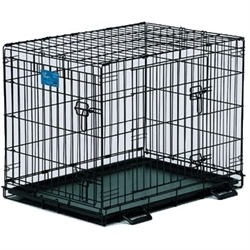 """Midwest Double Door Life Stages Dog Crate 42"""""""
