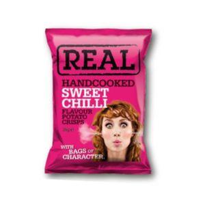Real Crisps Sweet Chilli 150g