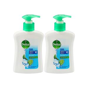Dettol Cool Handwash Liquid Soap Pump Mint & Bergamot Fragrance 3x200ml