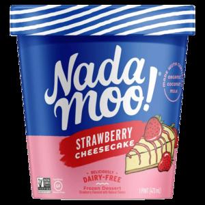 Nada Moo Icecream Strawberry Cheesecake Orginal 16oz