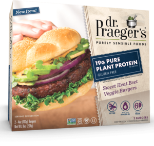 Dr Praeger's Veggie Burgers Sweet Beet 8oz