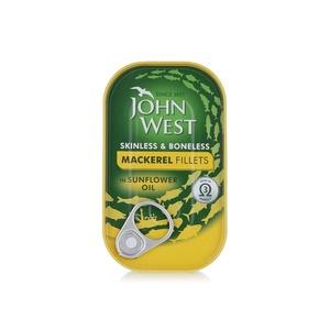 John West Mackerel Fillet Sunflower Oil 115g