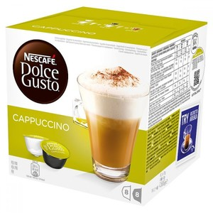 Nescafe Dolce Gusto Coffee Pods Cappuccino 186g