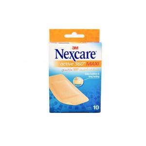 Nexcare Bandage Active 360 Maxi 10s