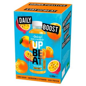 Upbeat Juicy Orange & Passion Fruit 500ml