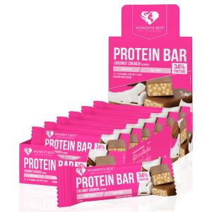 Womens Best Protein Bar Coconut Crunch 44g