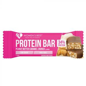 Womens Best Protein Bar Peanut Butter Cramael 44g