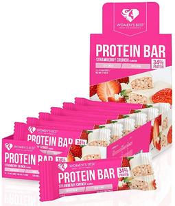 Womens Best Protein Bar Strawberry Crunch 44g
