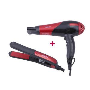 Geepas Hair Dryer & Ceramic Straightener 1pc