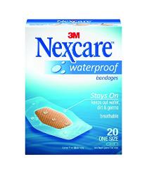 Nexcare Bandage Clear Waterproof 20s