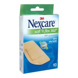 Nexcare Bandage Soft N Flex 10s
