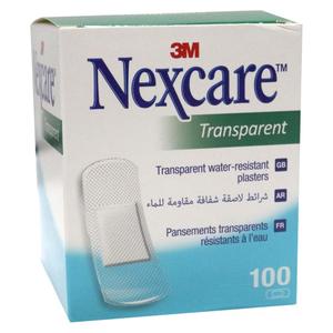 Nexcare Bandage Transparent Water Resistant 100s
