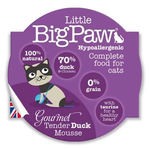 Little Big Paw Gourmet Tender Duck Mousse 85g