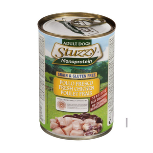 Stuzzy Monoprotein Pollo Fresco Adult Dog Food Fresh Chicken 400g