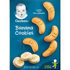 Gerber Banana Cookies 1pc