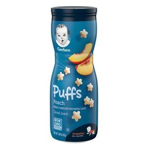Gerber Puffs Peach 1pc