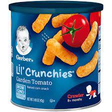 Gerber Lil Crunchies Garden Tomato 1pc