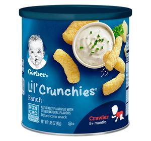 Gerber Lil Crunchies Ranch Crawler 1pc