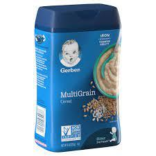 Gerber 2nd Foods Cereal Ngm Multi Grain 1pc